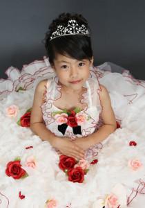 ドレス写真 七歳