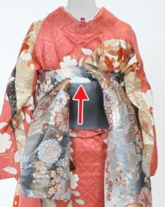 振袖の帯 着方その3
